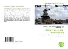 Greisen–Zatsepin–Kuzmin limit的封面