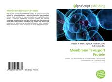 Couverture de Membrane Transport Protein