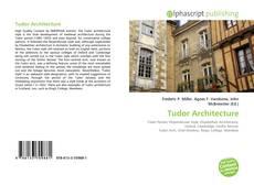 Couverture de Tudor Architecture