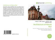 Buchcover von Architecture of Kievan Rus'