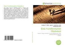 Capa do livro de Data Transformation (Statistics)