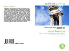 Bookcover of Herod Archelaus