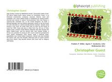 Bookcover of Christopher Guest