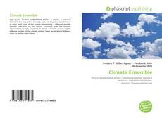 Capa do livro de Climate Ensemble