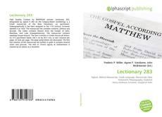 Lectionary 283的封面