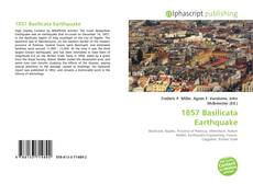 Bookcover of 1857 Basilicata Earthquake