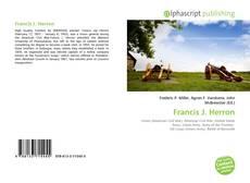 Bookcover of Francis J. Herron