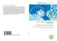 Languages of Greece的封面