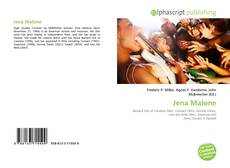 Buchcover von Jena Malone