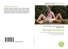 Bookcover of Mariage Homosexuel