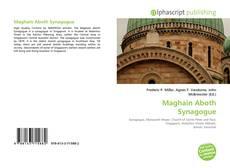 Copertina di Maghain Aboth Synagogue