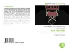 Portada del libro de Luis Mandoki