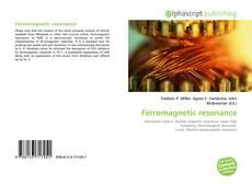 Buchcover von Ferromagnetic resonance