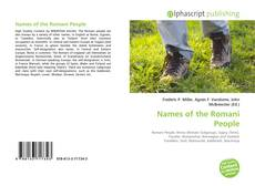 Portada del libro de Names of the Romani People