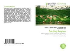 Capa do livro de Quisling Regime