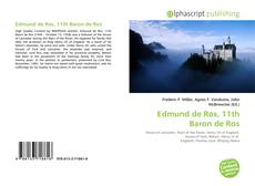 Bookcover of Edmund de Ros, 11th Baron de Ros