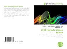Bookcover of 2000 Formula Nippon season
