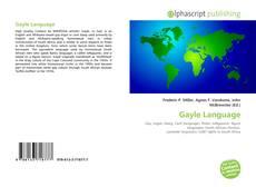 Buchcover von Gayle Language