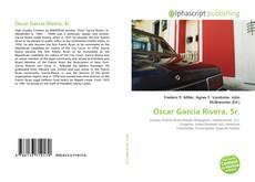 Capa do livro de Oscar Garcia Rivera, Sr.