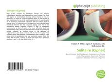 Bookcover of Solitaire (Cipher)