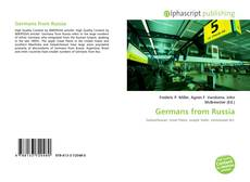 Portada del libro de Germans from Russia