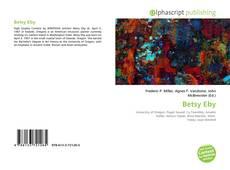 Copertina di Betsy Eby