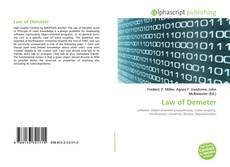 Capa do livro de Law of Demeter