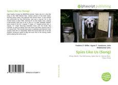 Portada del libro de Spies Like Us (Song)