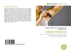 Обложка Adelaide Malanotte