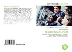 Bookcover of Kloster Berge School