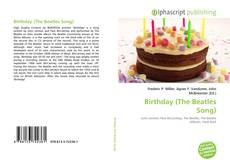 Bookcover of Birthday (The Beatles Song)