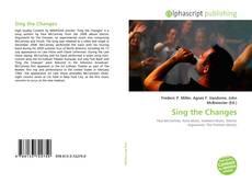 Couverture de Sing the Changes