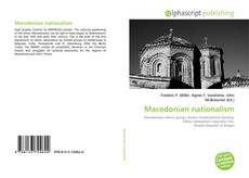 Bookcover of Macedonian nationalism