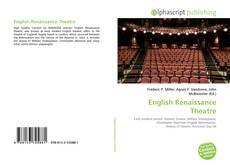 English Renaissance Theatre的封面