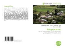 Buchcover von Tangata Manu