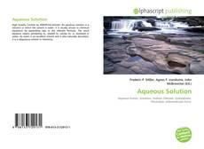 Borítókép a  Aqueous Solution - hoz