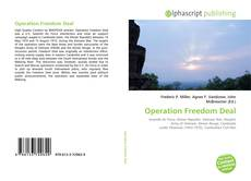 Bookcover of Operation Freedom Deal