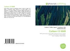 Couverture de Carbon-13 NMR