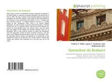 Portada del libro de Geneviève de Brabant