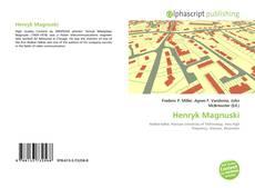 Capa do livro de Henryk Magnuski