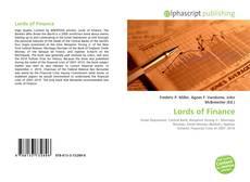 Buchcover von Lords of Finance