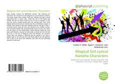 Magical Girl Lyrical Nanoha Characters kitap kapağı