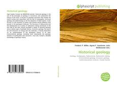 Bookcover of Historical geology