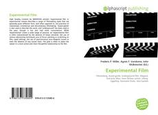 Bookcover of Experimental Film