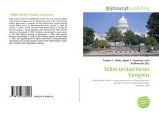 108th United States Congress kitap kapağı