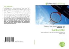 Jud Buechler kitap kapağı