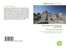 Bookcover of House of Nassau