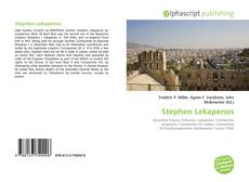 Bookcover of Stephen Lekapenos