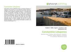 Bookcover of Constantine Lekapenos