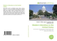 Bookcover of Modern Liberalism in the United States